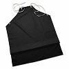 Ansell CPP Supported Aprons, 35 in x 45 in, Black, 12 Pack