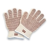 North By Honeywell 51/7147 Hot Mill Glove, Maximum Temperature 400 Degrees Fahrenheit, Color White/Rust, Cotton/Acrylic Material, Ambidextrous, Size Mens Universal, Dozen