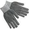 Memphis 9662LM Regular-Weight PVC Coated String Knit Gloves (90/10 Cotton/Poly), Size Large, Dozen