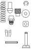 Marson® Tool Part M39139 Repair Kit for HP-2 Tool
