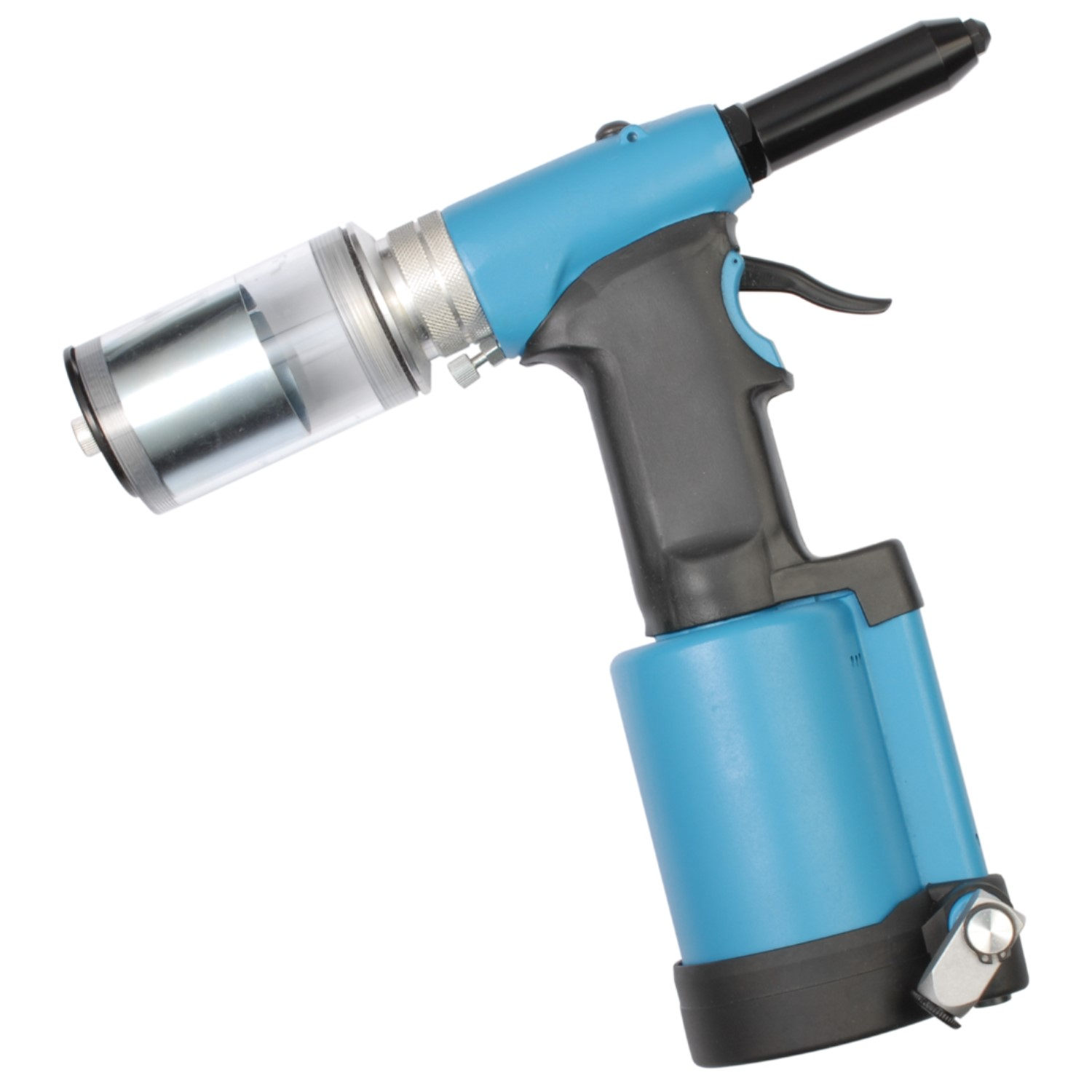 Heavy Duty Air Rivet Gun with Nose Pieces for 3//16 5//32 1//8 3//32 Rivets