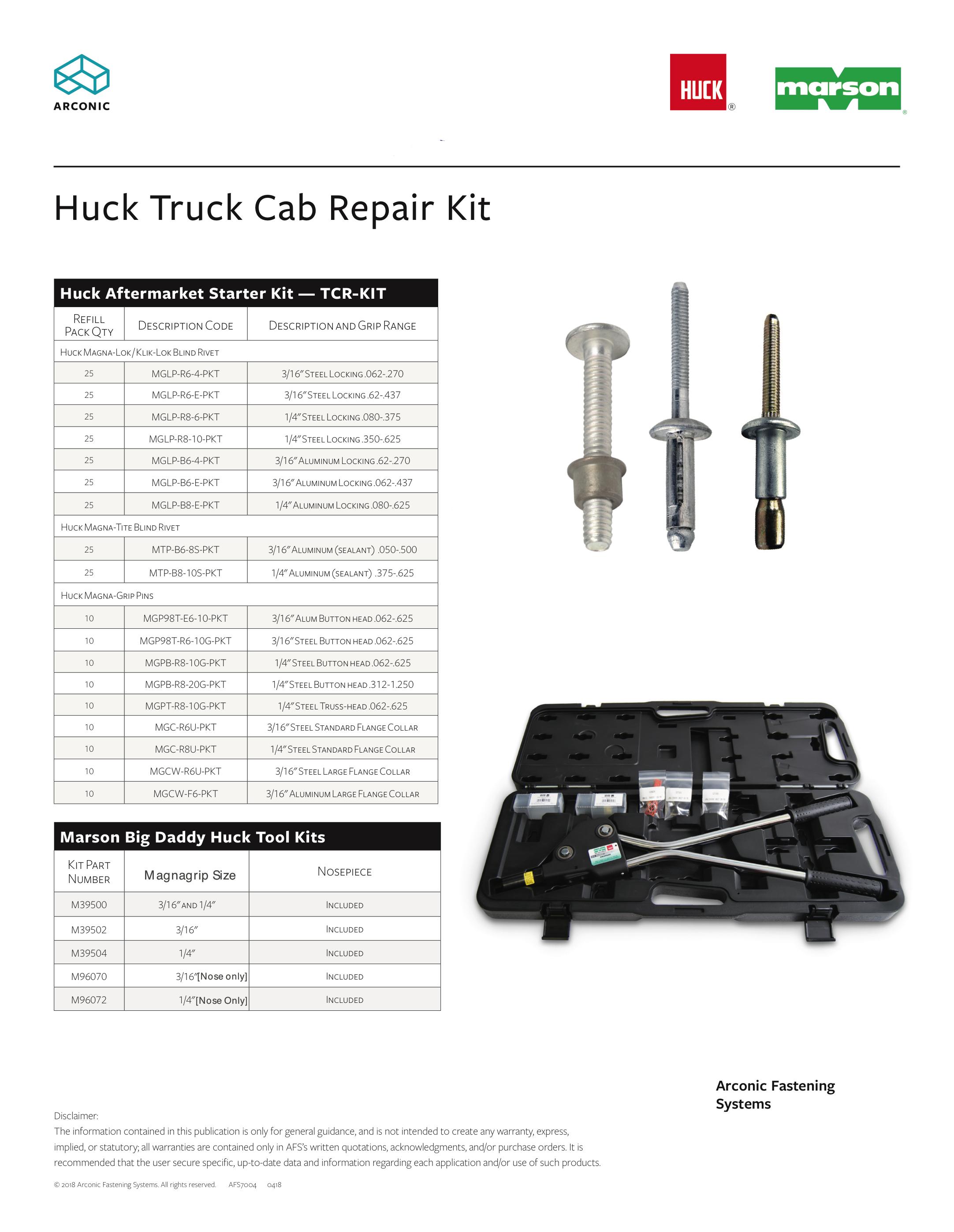 huck 2025 rivet tool manual