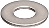 POP, ABUP 1/8 Back-Up Washer 1/8 Inch, 0.131 Inch ID x 0.375 Inch OD x 0.048 Inch Thick, Aluminum, Plain