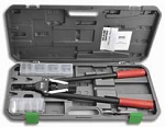 Marson M34606 325-RNK Rivet Nut Tool Kit with 10-24, 10-32, 1/4-20, 5/16-18, 3/8-16 Mandrel & Nosepiece with Storage Case & Service Tools