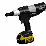 Avdel Proset PB3400-NA2042, POP, Cordless Riveter Kit 20V, W/4.0ah LiIon Battery, 20V Charger, 3/16 & 1/4 Std Rivet