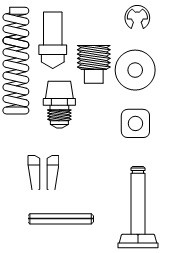 Marson® M39139 Tool Part, Repair Kit for HP-2 Tool