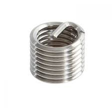 Recoil® 04055 Tanged Free-Running Coil Threaded Insert, 5/16-24 UNF, 2.5D/0.783 Inch Length, 304 Stainless Steel